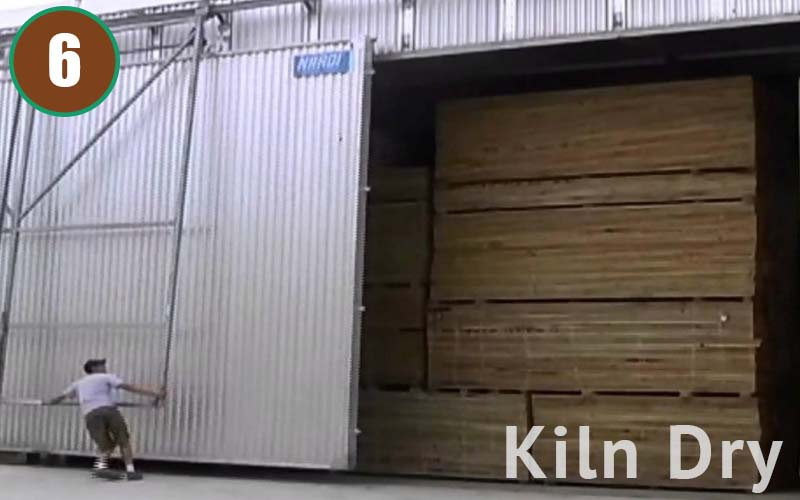 Kill Dry is the process to bake / heat the timber in order to reduce the moisture content and keep the timber stable. This lengthy process can take up to 3-4 weeks, and therefore is often neglected by many manufacturers. In our factory, we take this process seriously. Quality is our priority.