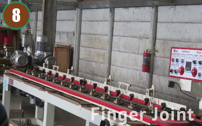 The Finger Joint process joins timber together using advanced technology to make a longer plank. Longer planks are preferable as they require less work to install. Finger Jointed Timber are also more Strong, Stable, and Green. Learn more - www.buanatriarta.com/finger-joint/