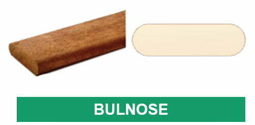 Truck Component with Bullnose Profile