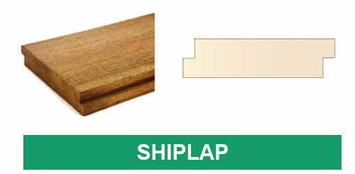 Truck Flooring with Shiplap Profile